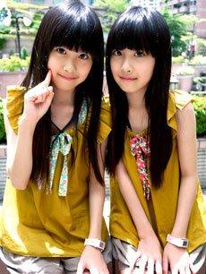 台湾双胞胎姐妹花热舞