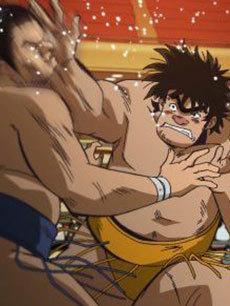 相扑力士松太郎