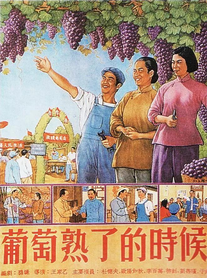 葡萄熟了的时候