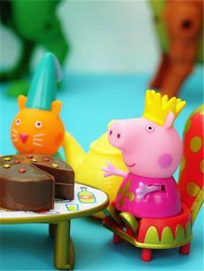小猪佩奇港版新款汽水机玩具 过家家玩具故事